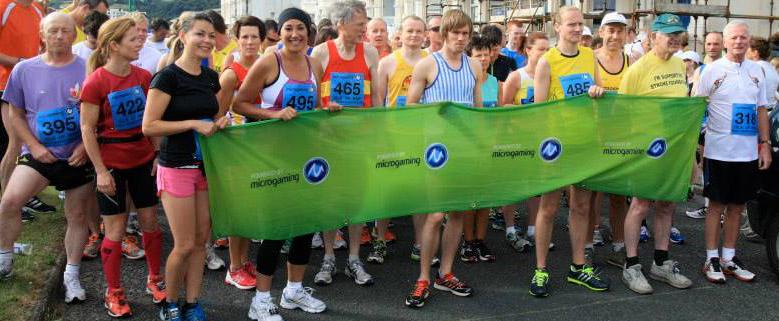 Isle of Man Marathon starters